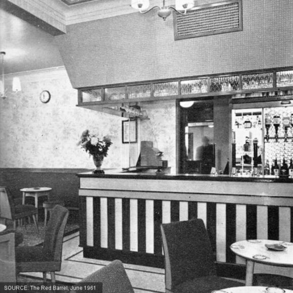 Lounge of the Willow Tavern.