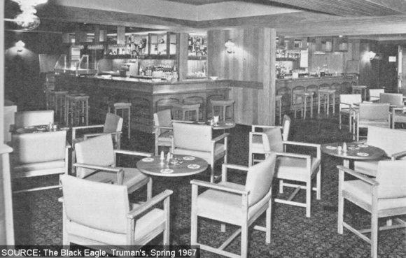 Saloon Bar at the Old King Coel.