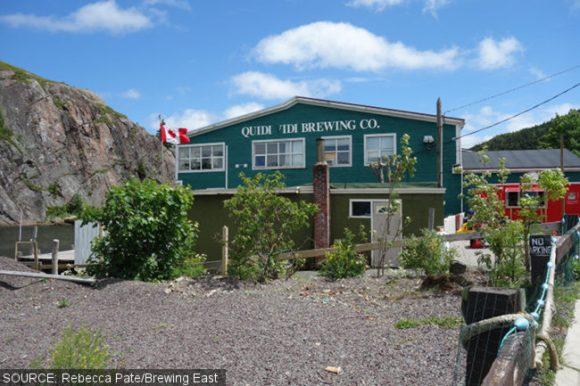 Quidi Vidi Brewing, Newfoundland.