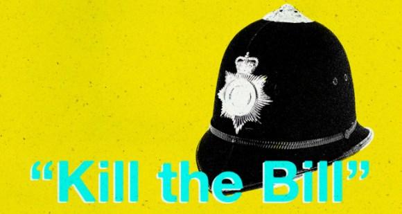 """ILLUSTRATION: """"Kill the Bill""""."""