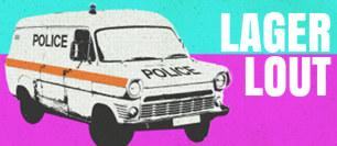 Police van.