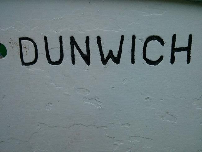 Dunwich sign.