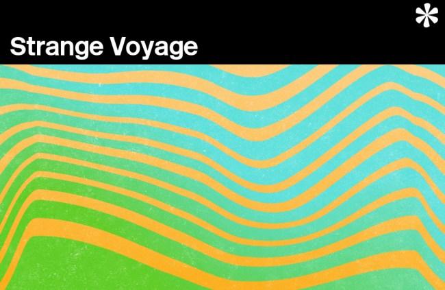 Abstract illustration: Strange Voyage.
