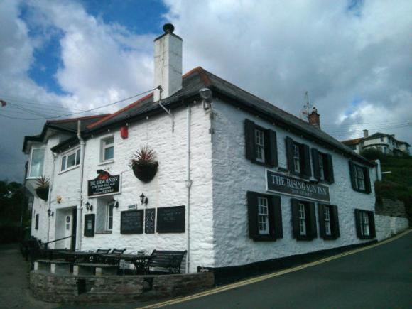 A Cornish village pub.