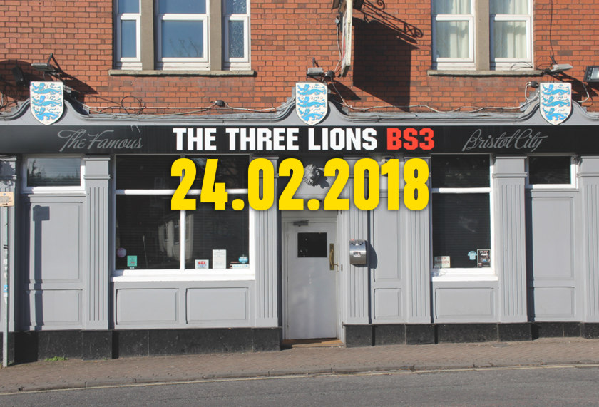 The Three Lions, Bedminster.