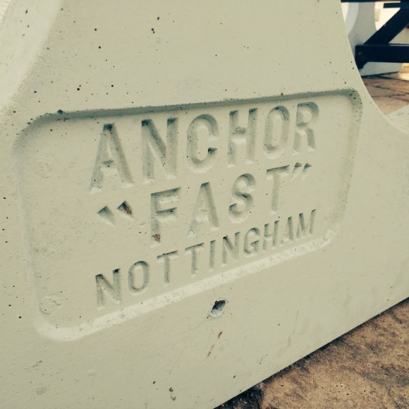 Pub table: Anchor Fast, Nottingham