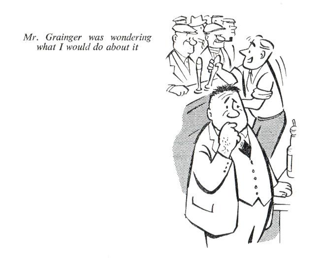 Mr Grainger worries