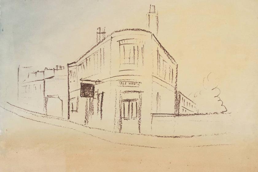 Sketch of The Brunswick.