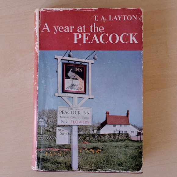 BOOK COVER: A Year at the Peacock