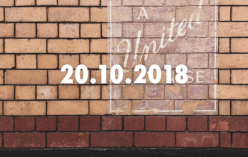News, Nuggets & Longreads 20 October 2018: Bermondsey, Breakfast, Birthday Beers