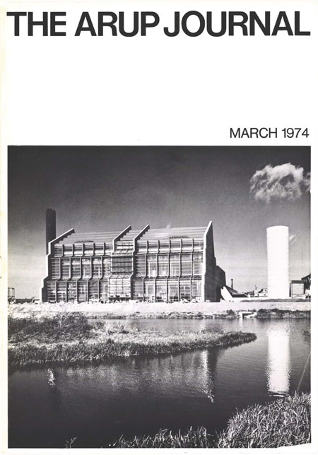 Arup Journal, March 1974, cover.