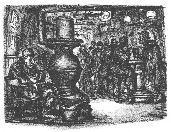 Vintage illustration: McSorleys