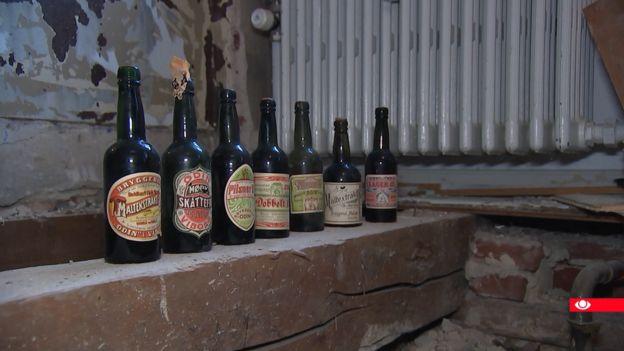 Bottles of beer from Viborg.