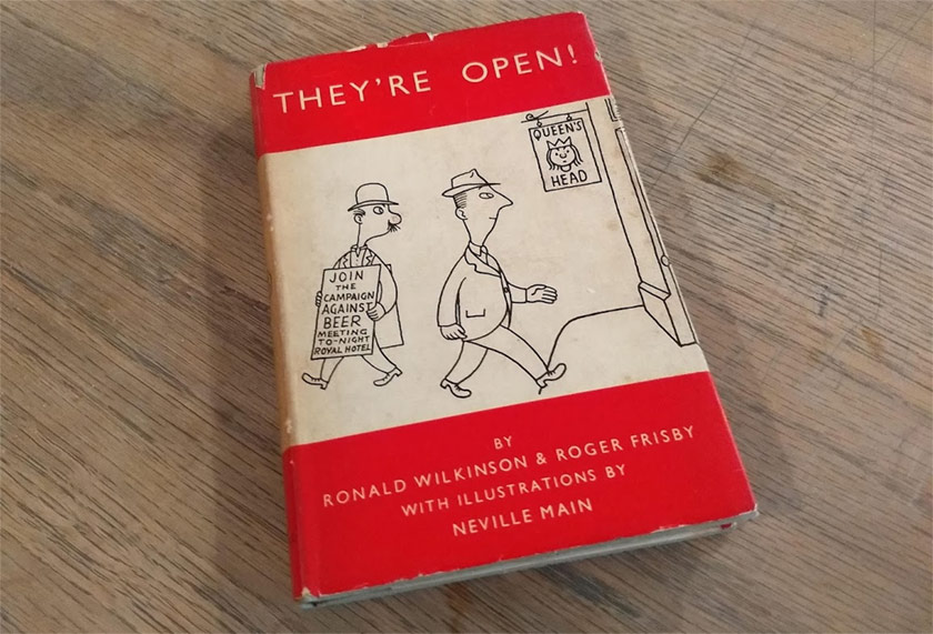 The cover of They're Open, 1950.