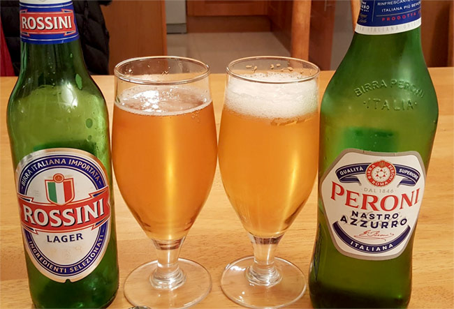 Italian lagers.