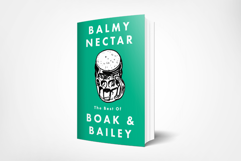 A mockup of the book.