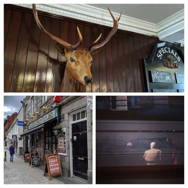 A collage of pubs in Fort William.