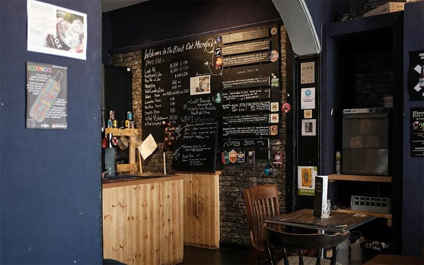 The Black Cat, Weston-super-Mare: micropub or craft beer bar?