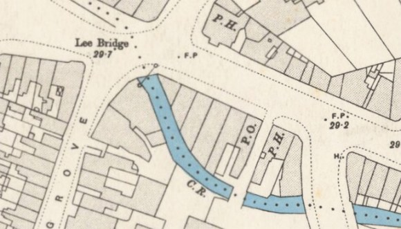 Map of Lee High Road