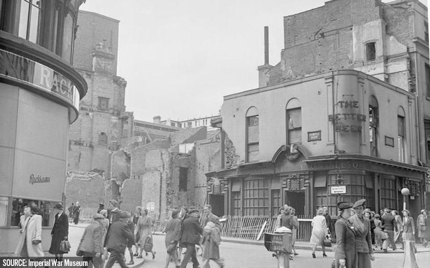 Birmingham in 1942.