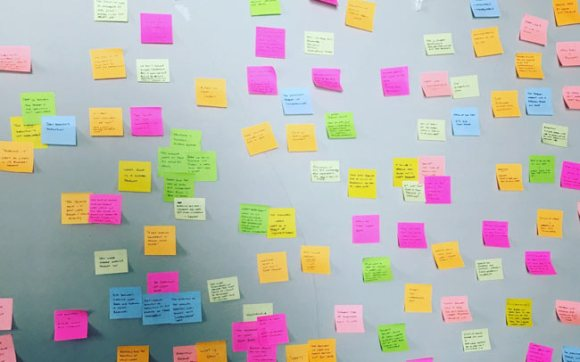 Post-It notes.