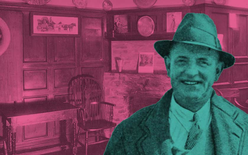 Wodehouse in America, thinking of the English pub
