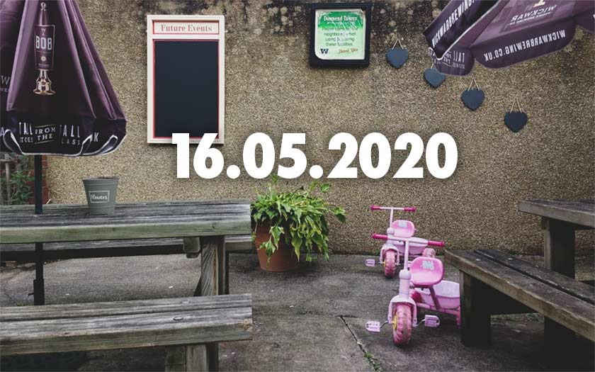 News, nuggets and longreads 16 May 2020: Prague, palates, pints of plain