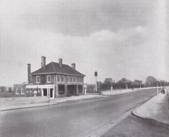Roadside pub.