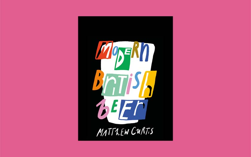 The cover of Modern British Beer