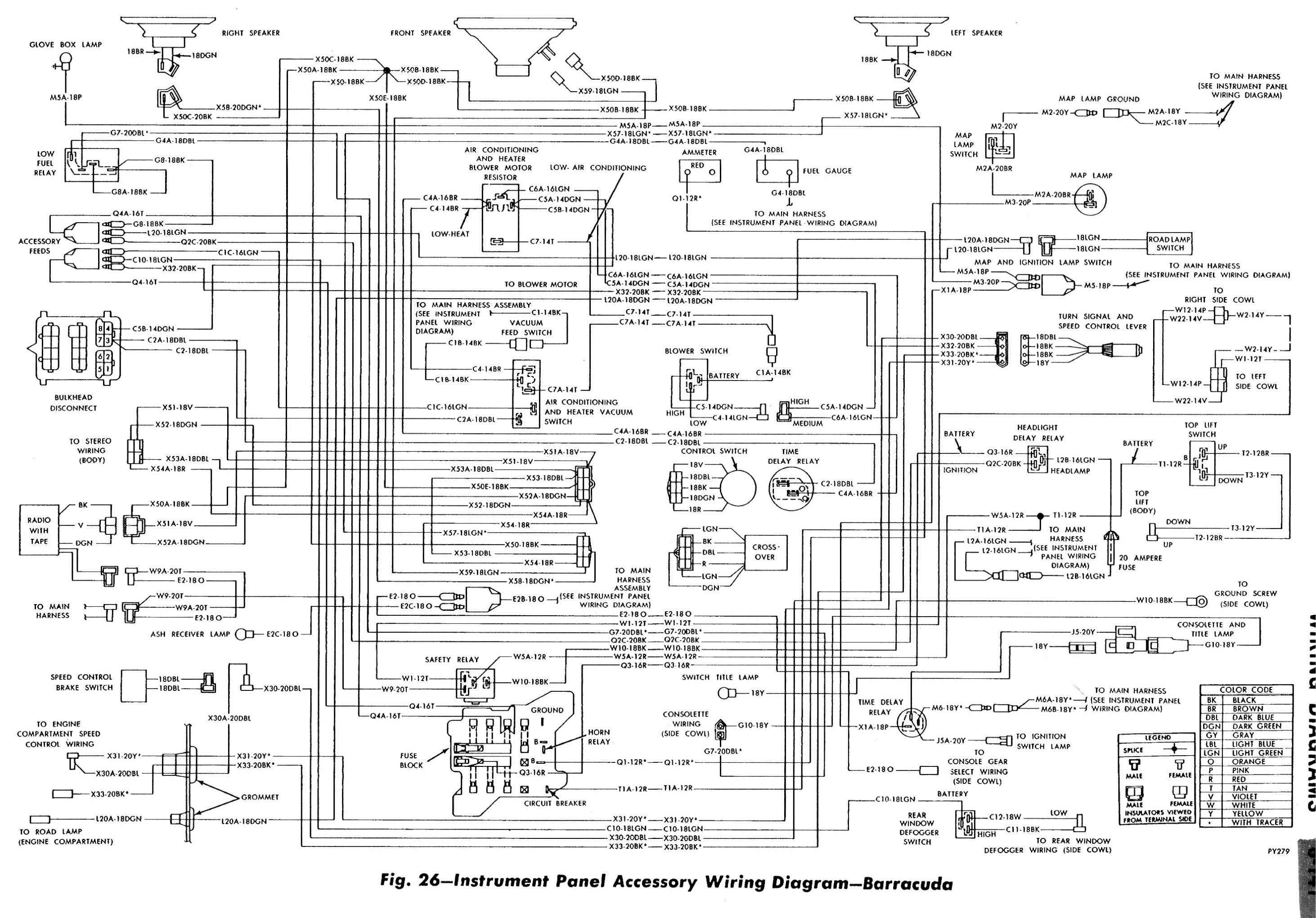Wrg 69 Plymouth Roadrunner Wiring Diagram
