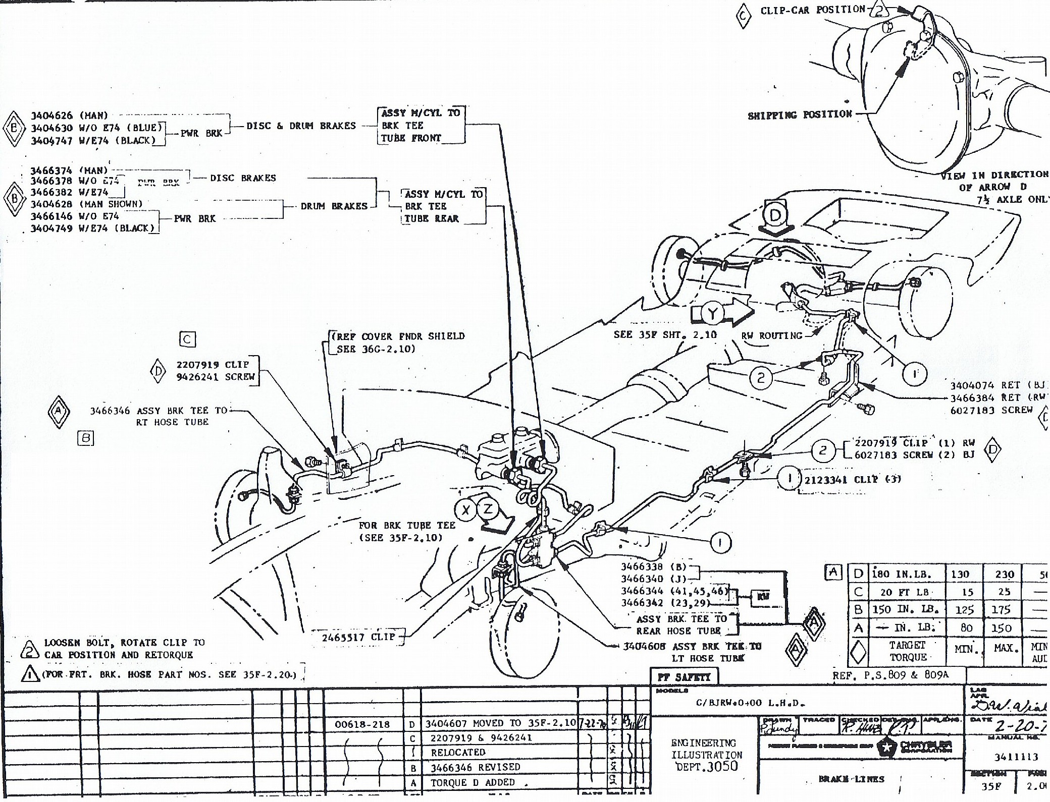 Plymouth Cuda Mopar Wiring Diagram