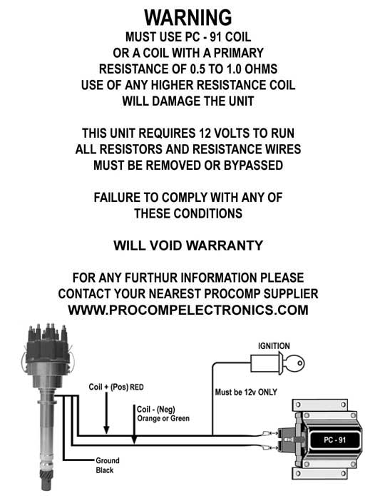 mallory pro comp ignition wiring diagram  wiring diagrams