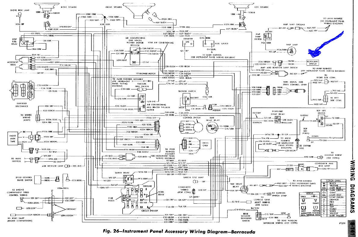 Cuda Road Lamp Wiring Diagram