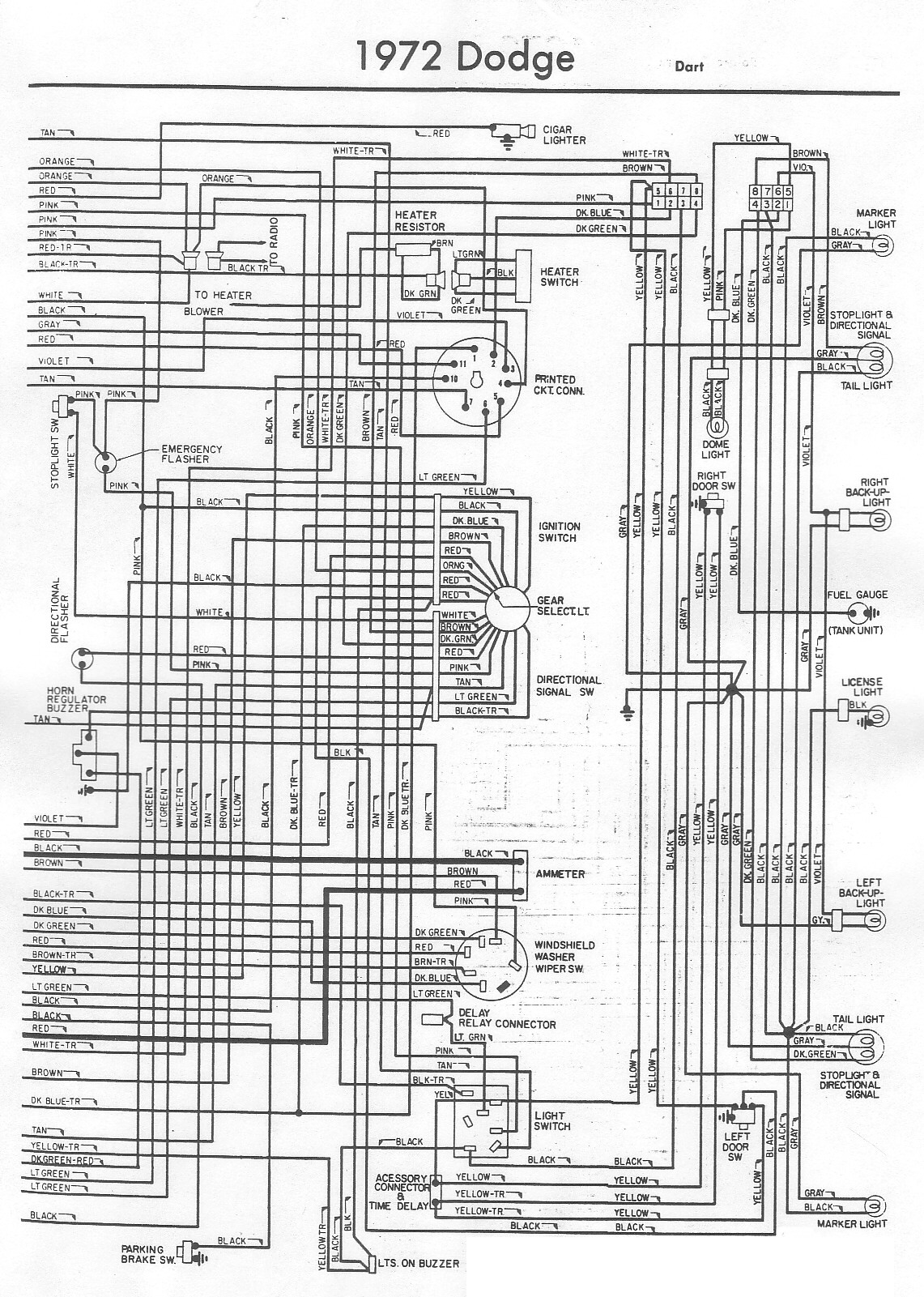 1973 Duster Wiring Diagram Library Plymouth Satellite