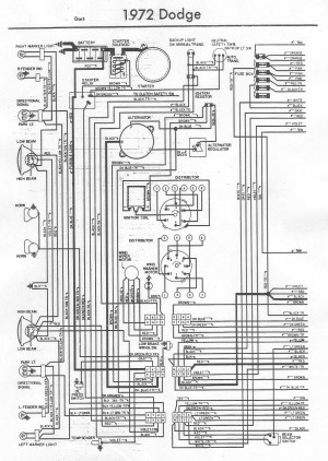 1970 Dodge Dart Swinger Wiring Diagram  Somurich