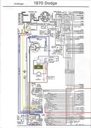 1970 Dodge Challenger Ignition Wiring Diagram  Somurich