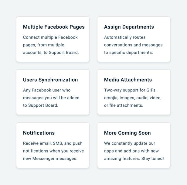 Facebook Messenger App for Support Board - 3