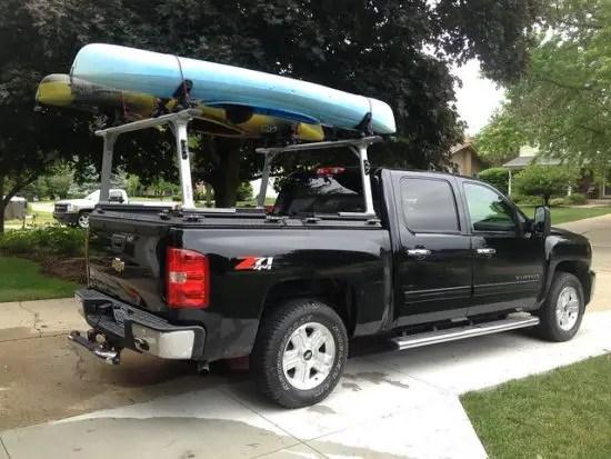 top kayak racks for trucks for any bed