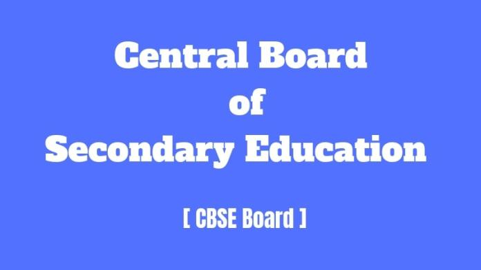 Central Board of Secondary Education