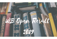 WB Open Result 2019