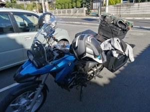 バイク マット 積載