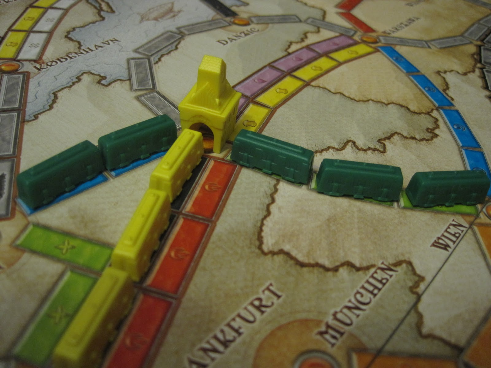 Review Ticket To Ride Europe