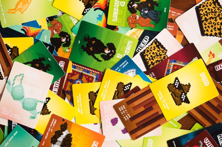 All the colourful cards in Doxie Dash