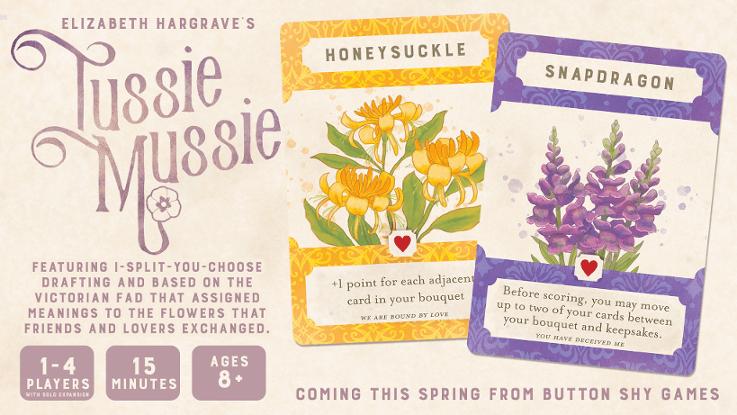 Tussie Mussie Kickstarter Feature Image