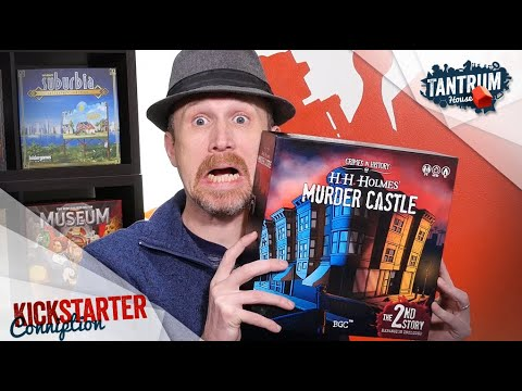 H H Holmes Murder Castle Preview Boardgame Stories