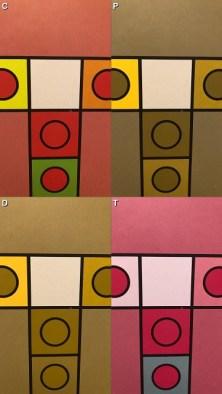 Game board color check