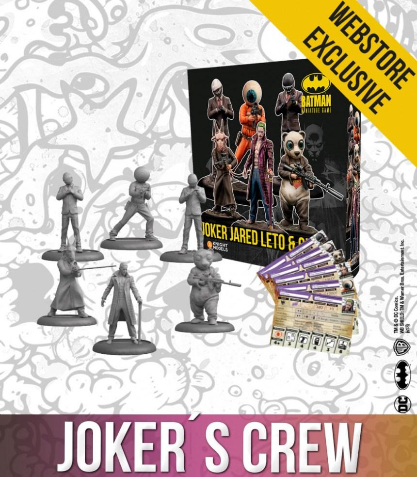 Joker Jared Leto & Crew