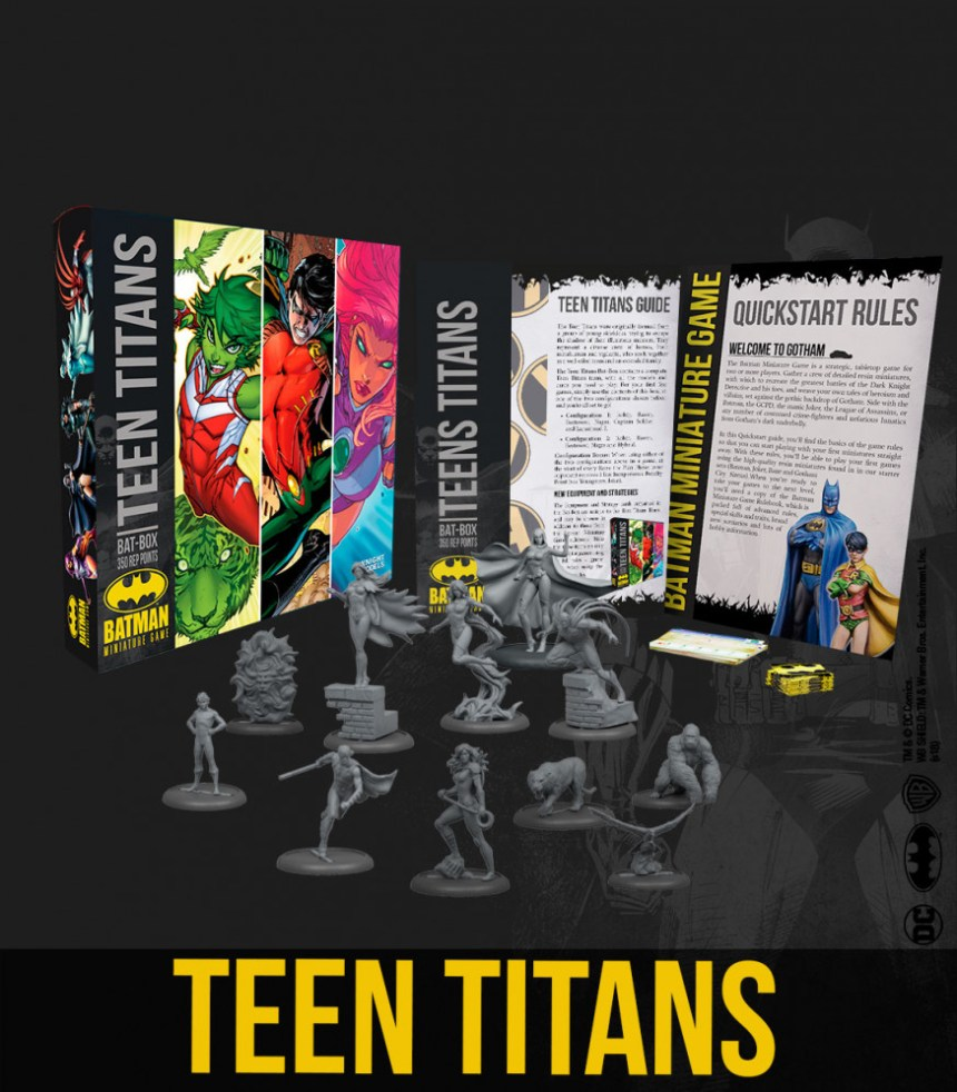 Teen Titans Bat-Box
