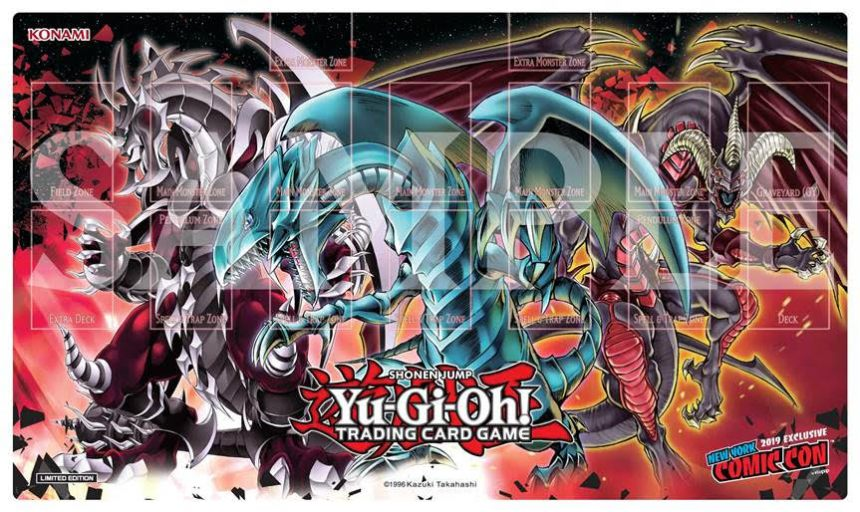 Exclusive Game Mat for 2019 New York Comic Con