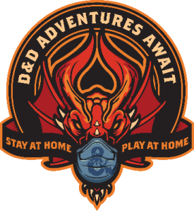 D&D Stay at Home Play at Home